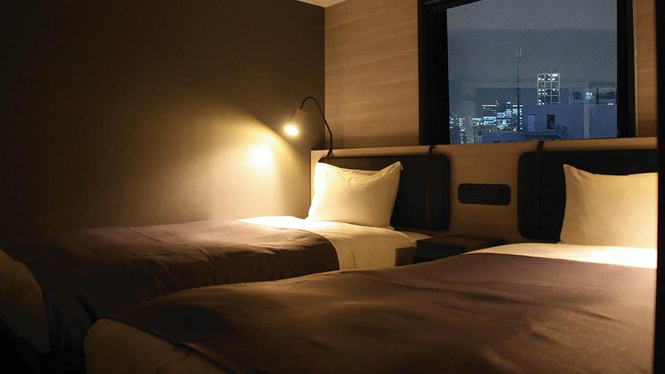 City view twin room