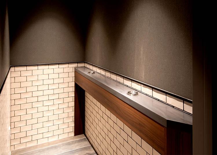 喫煙室画像